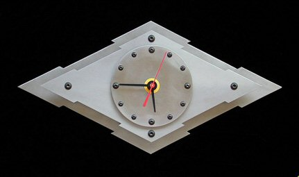 diamond clock prototype