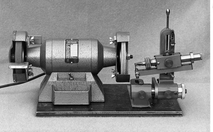 The TINKER Tool & Cutter Grinding Jig - B&W