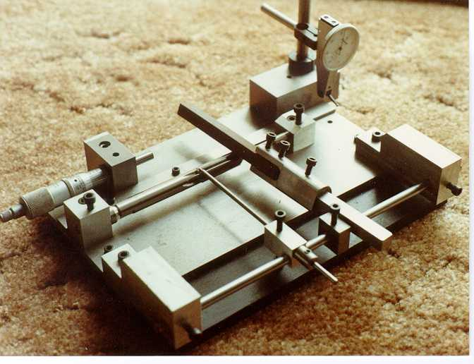 Reamer stoning fixture